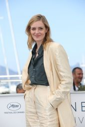 """Kate Moran - """"Knife + Heart"""" Photocall at the 71st Cannes Film Festival 05/18/2018"""
