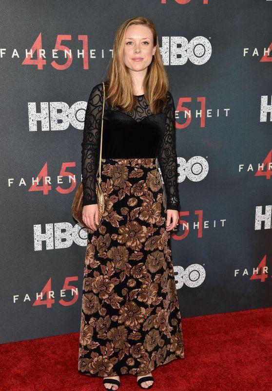 """Katharine Cullen – """"Fahrenheit 451"""" Premiere in NYC"""