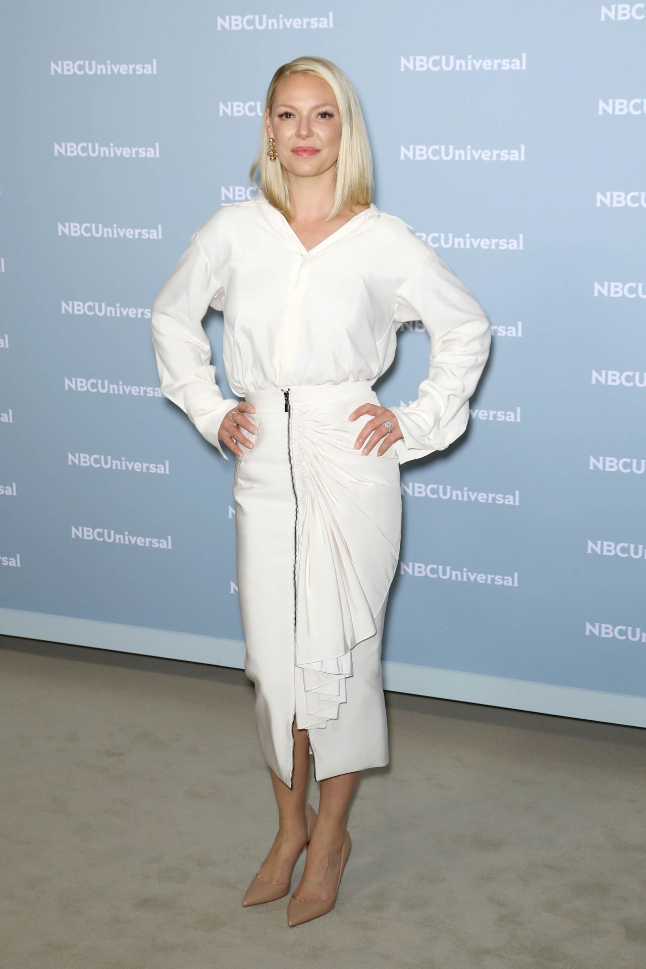Katherine Heigl 2018 Nbcuniversal Upfront In Nyc