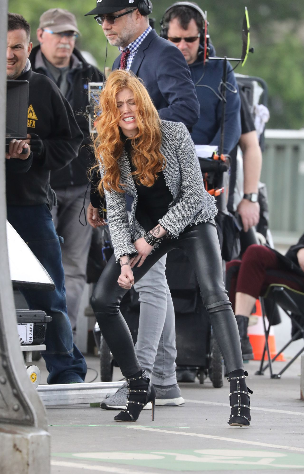 Filming In Progress The Most Beautiful Actress In The World: Katherine McNamara And Dominic Sherwood