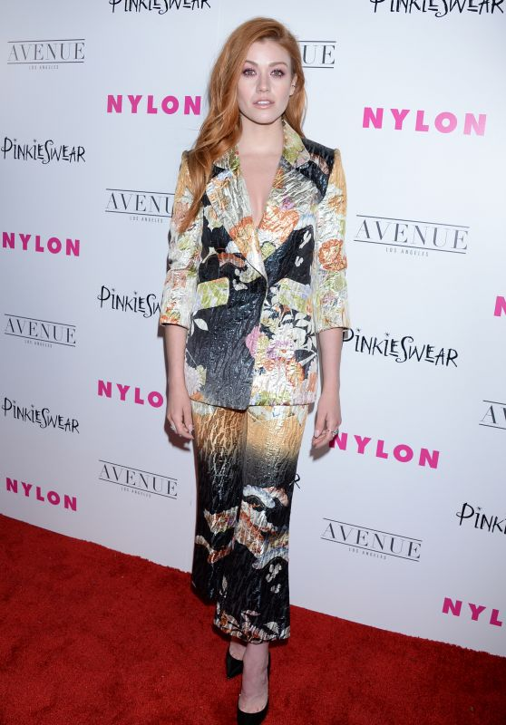 Katherine McNamara – NYLON Young Hollywood Party in LA