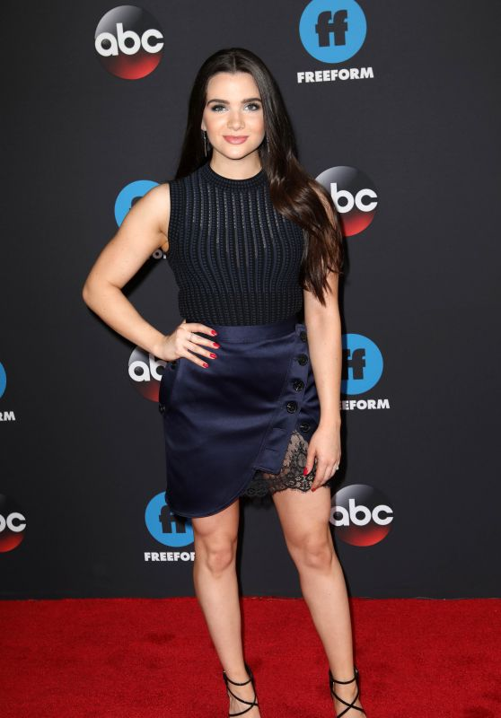 Katie Stevens – 2018 Disney ABC Upfront Presentation in New York