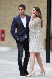 Kelly Brook and Jeremy Parisi - London 05/21/2018