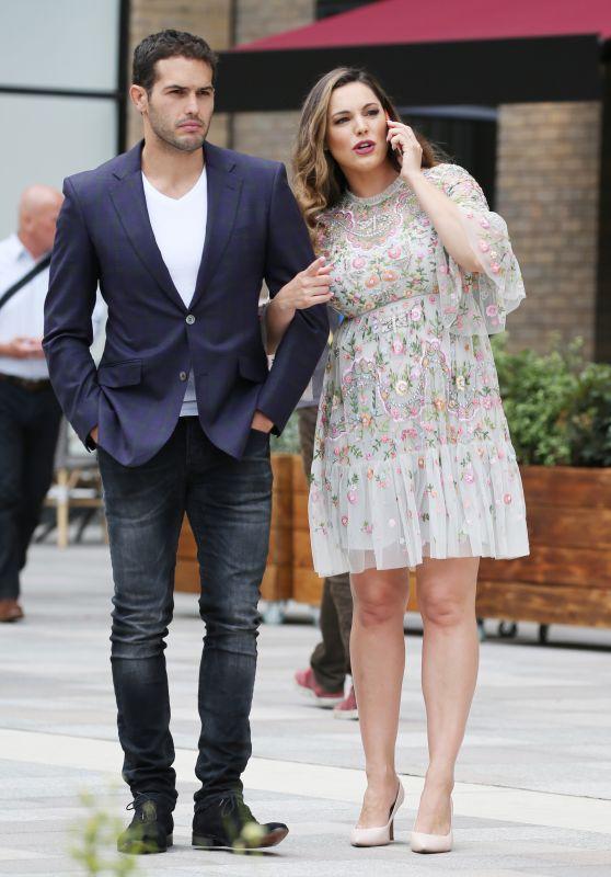 Kelly Brook and Jeremy Parisi - London 05/21/2018