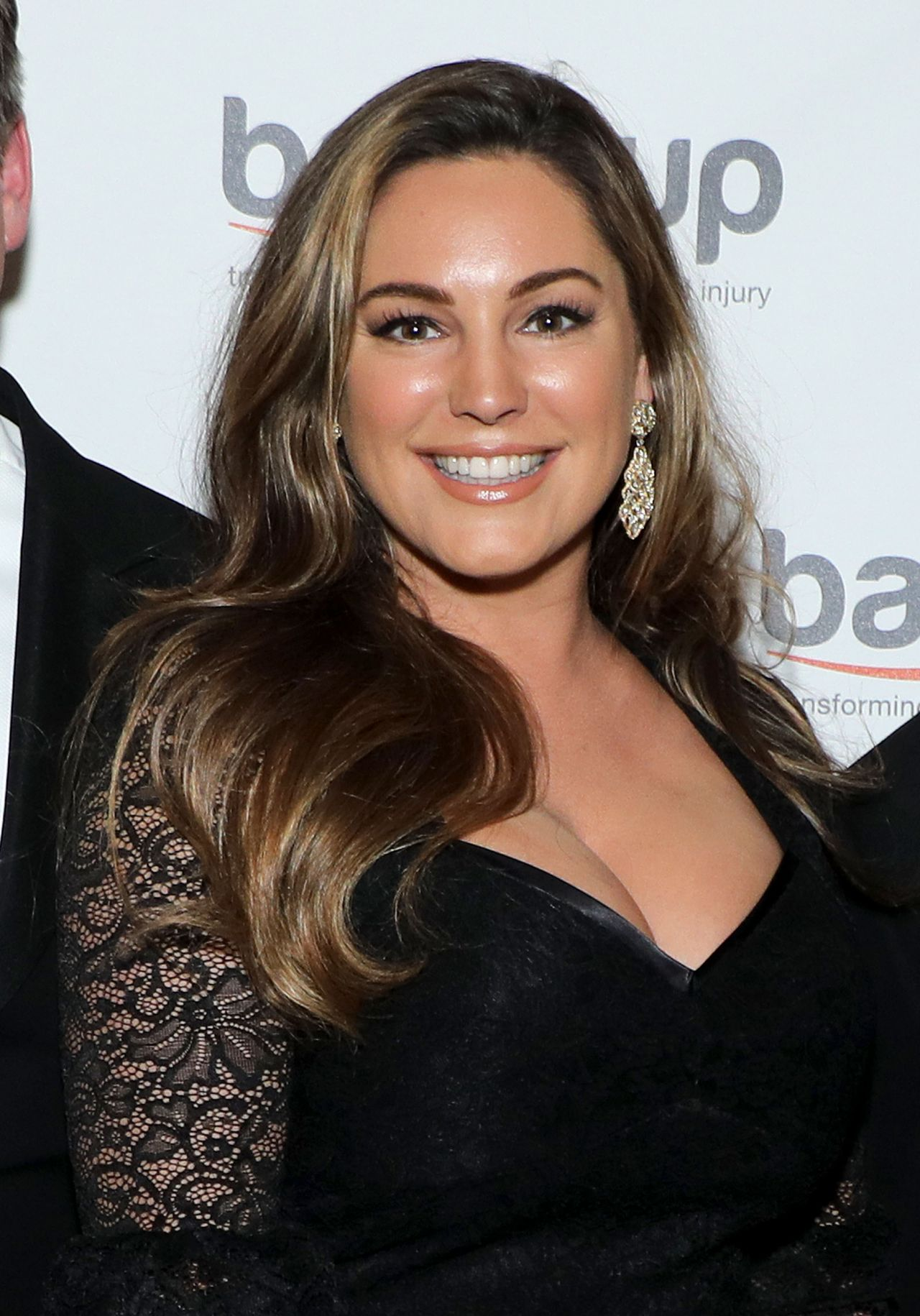 Kelly Brook Back Up Black Tie And Diamonds Fundraising