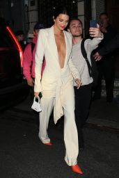 Kendall Jenner Night Out Style - Chinese Tuxedo in NY 05/08/2018