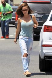 Kendra Wilkinson at Cosmetic Rejuvenation Medical Center in West Hollywood