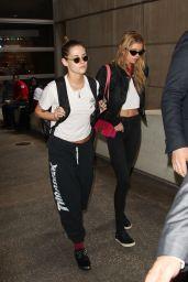 Kristen Stewart and Stella Maxwell - LAX Airport  in LA 05/20/2018