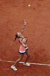 Kristina Mladenovic – French Open Tennis Tournament 2018 in Paris 05/28/2018