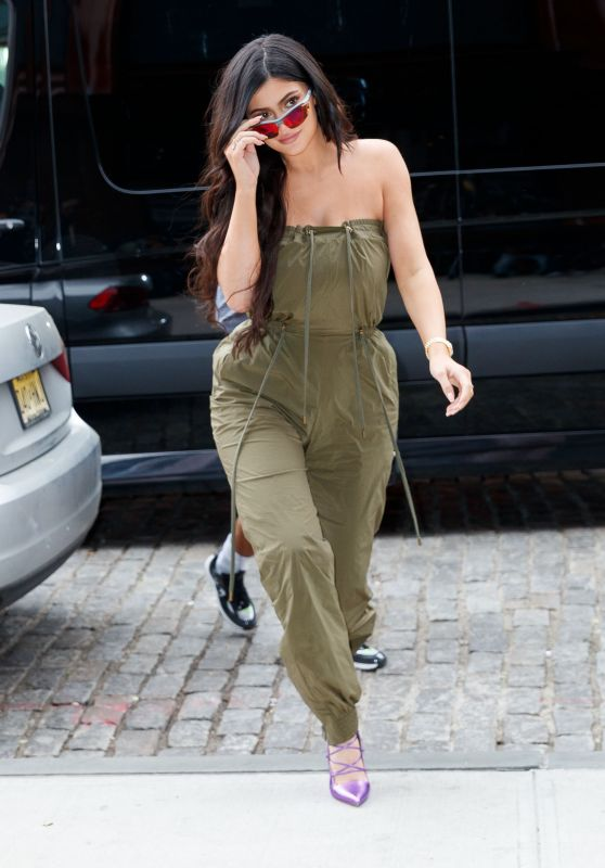Kylie Jenner Style and Fashion -  New York City 05/06/2018