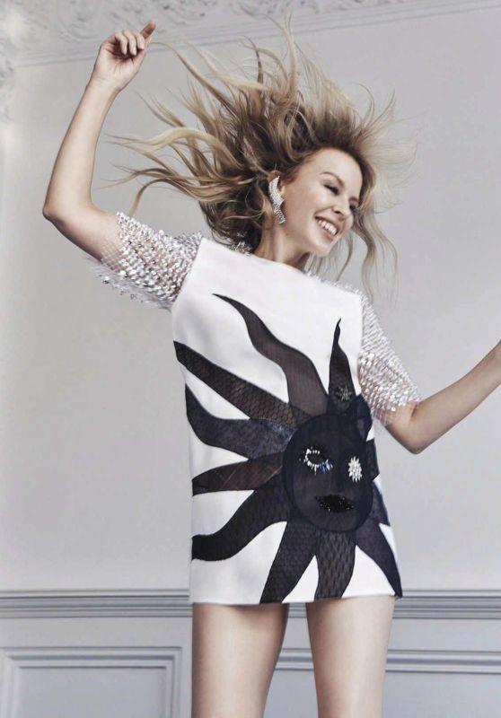 Kylie Minogue - Vogue Australia May 2018 Photos