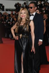 "La Toya Jackson - ""Burning"" Red Carpet in Cannes"
