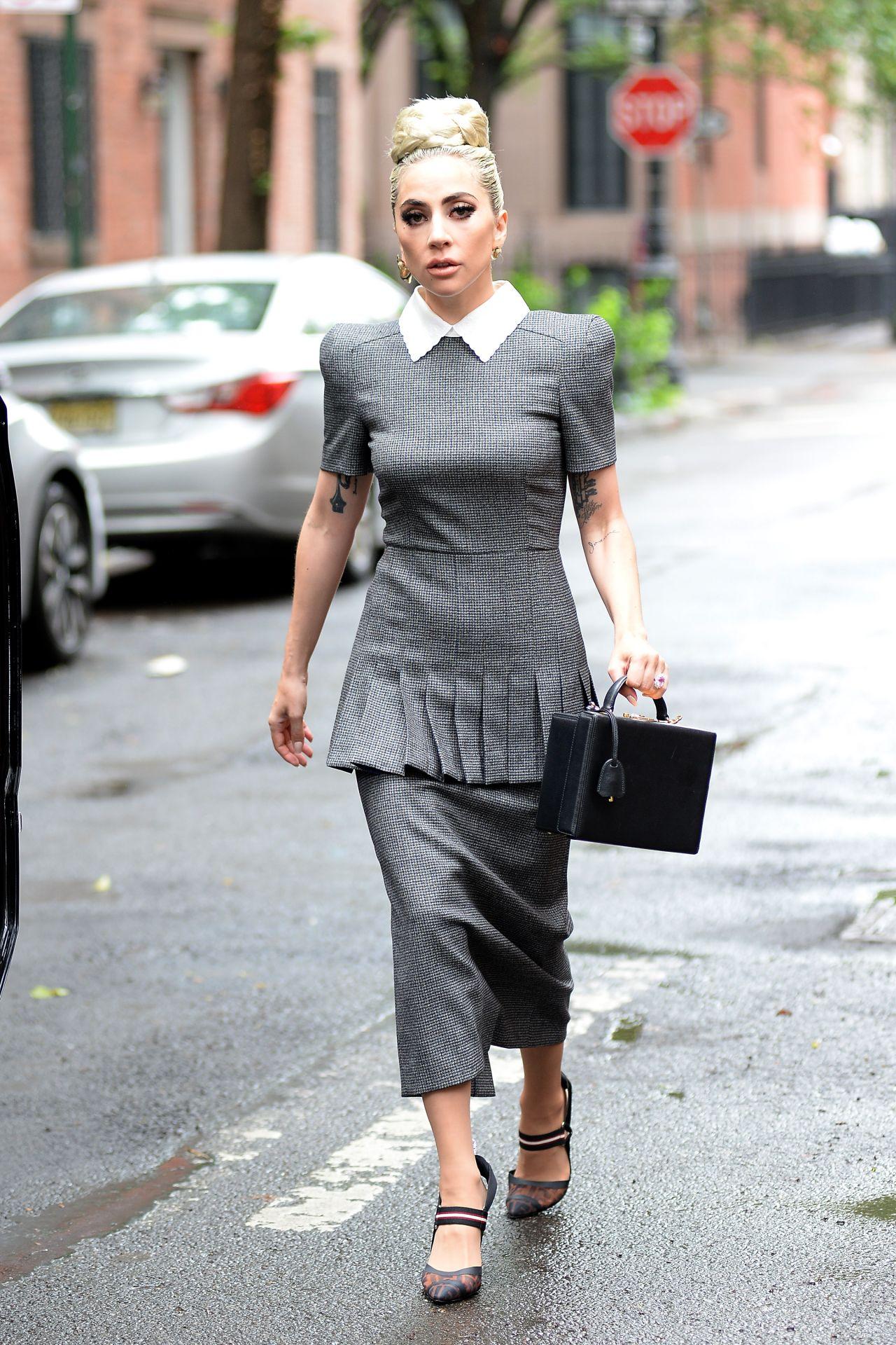 Lady Gaga Style And Fashion West Village New York City 05 27 2018