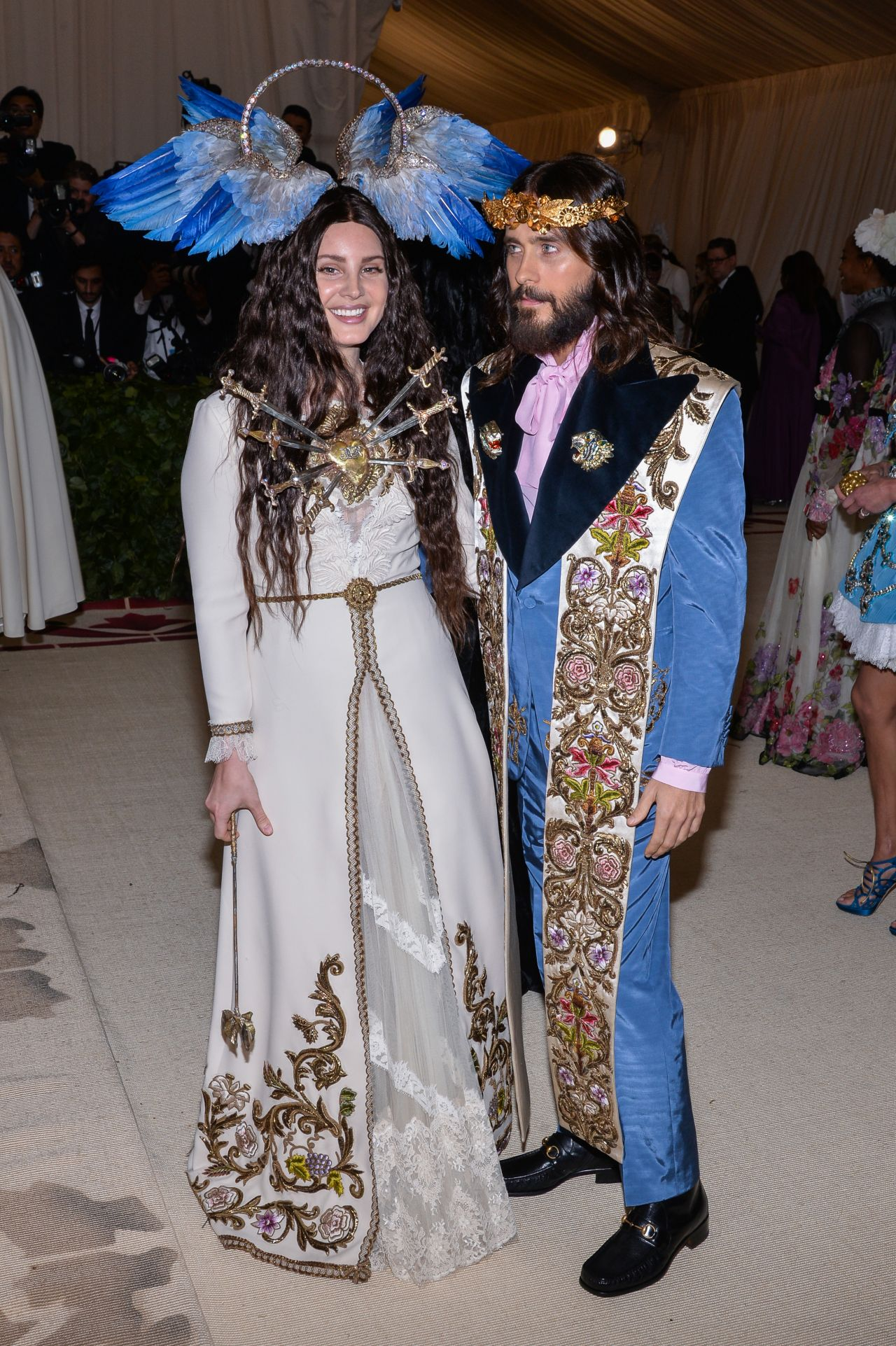 Lana Del Rey Jared Leto And Alessandro Michele Met Gala