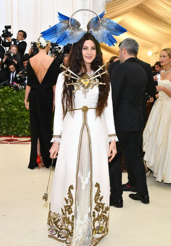 Lana Del Rey, Jared Leto and Alessandro Michele – MET Gala 2018
