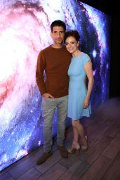 "Lara Pulver - ""Lost in Space"" Series Premiere in Los Angeles"