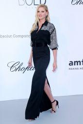 Lara Stone – amfAR's Cinema Against AIDS Gala in Cannes 05/17/2018