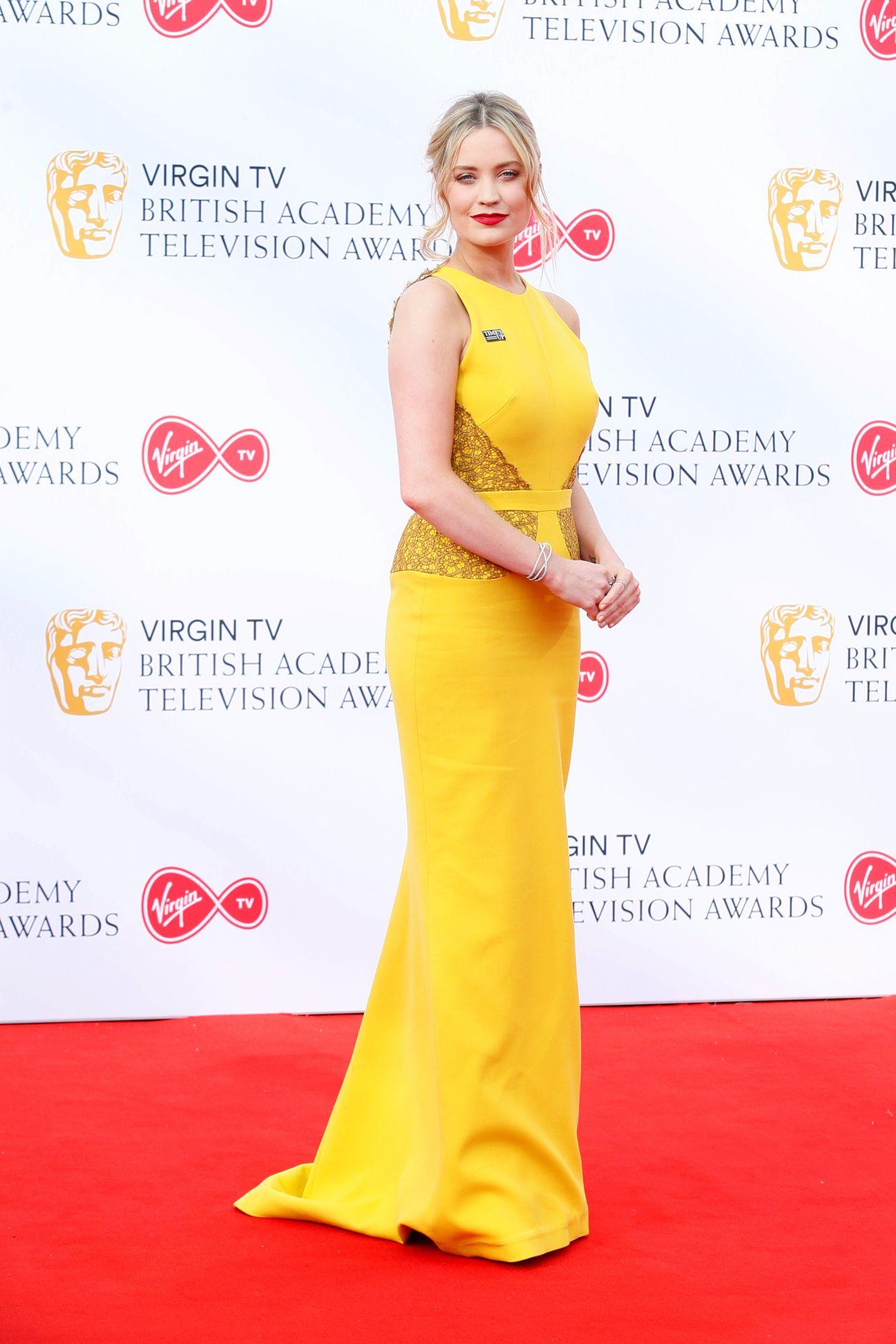Laura Whitmore Bafta Tv Awards 2018 In London