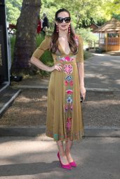 Laura Wright – Chelsea Flower Show in London 05/21/2018