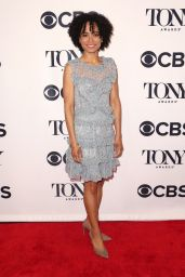 Lauren Ridloff – 2018 Tony Awards Nominees Photocall