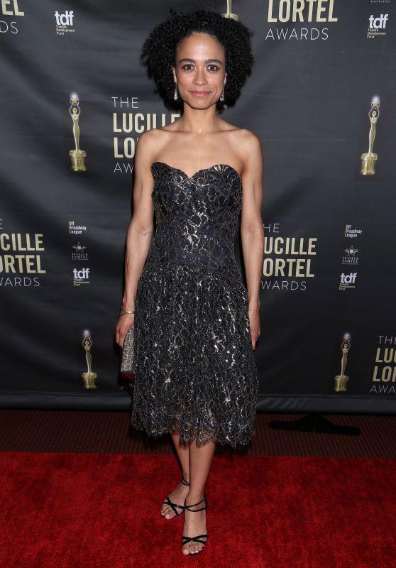 Lauren Ridloff – Lucille Lortel Awards in New York 05/06/2018