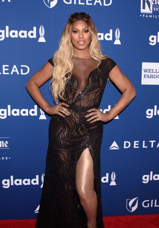 Laverne Cox – 2018 GLAAD Media Awards