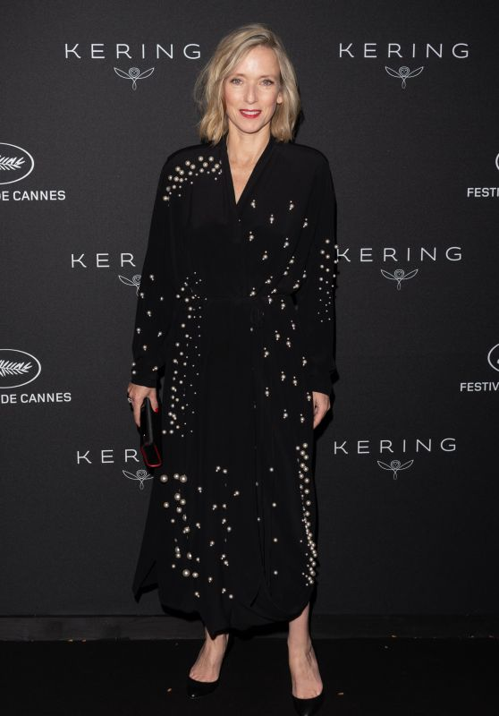 Lea Drucker – Kering Women in Motion Awards Dinner at Cannes Film Festival 2018