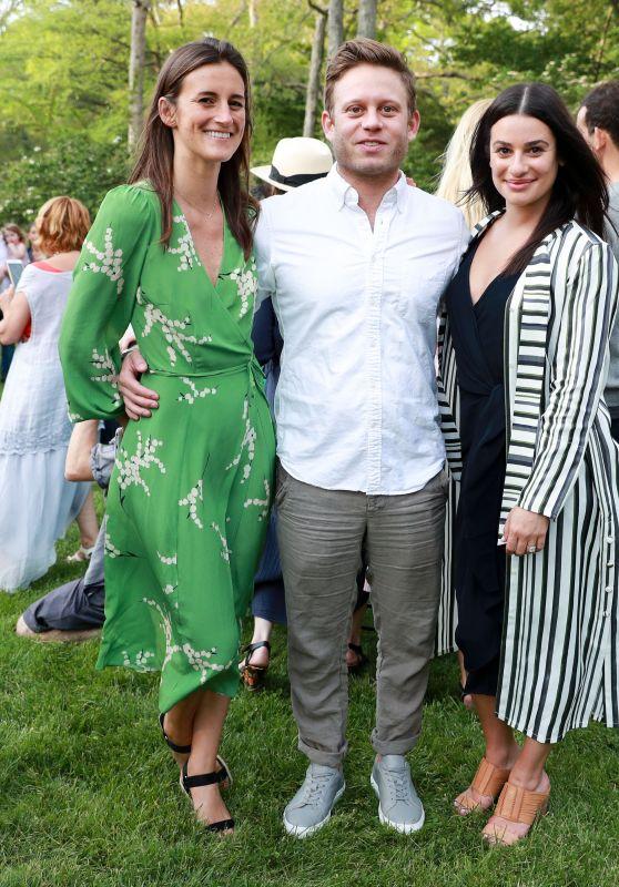 Lea Michele - Salon on the Lawn in NY 05/26/2018