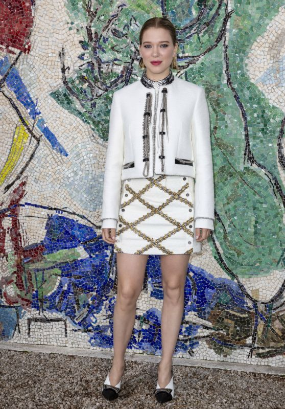 Léa Seydoux – Louis Vuitton 2019 Cruise Collection in Saint-Paul-De-Vence