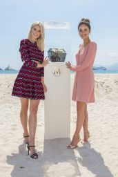 Lena Gercke and Janina Uhse – Magnum x Alexander Wang Press Conference in Cannes 05/10/2018