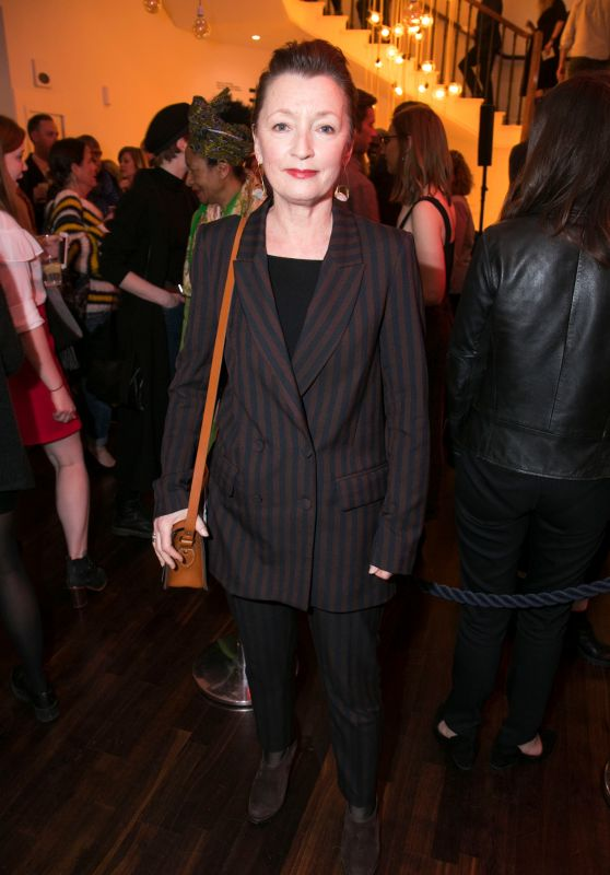 """Lesley Manville - """"Mood Music"""" Party in London"""