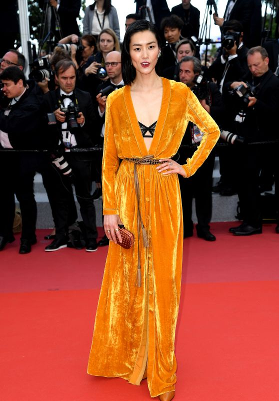 """Liu Wen – """"Solo: A Star Wars Story"""" Red Carpet in Cannes"""
