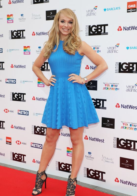 Liz McClarnon – British LGBT Awards 2018