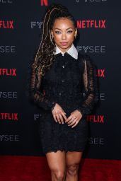 Logan Browning – Netflix FYSee Kick-Off Event in Los Angeles 05/06/2018