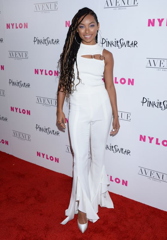 Logan Browning – NYLON Young Hollywood Party in LA