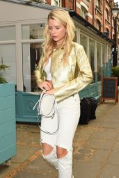Lottie Moss – Tell Your Friends Restaurant Launch in London