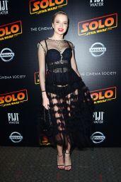 "Louisa Warwick – ""Solo: A Star Wars Story"" Premiere in New York"