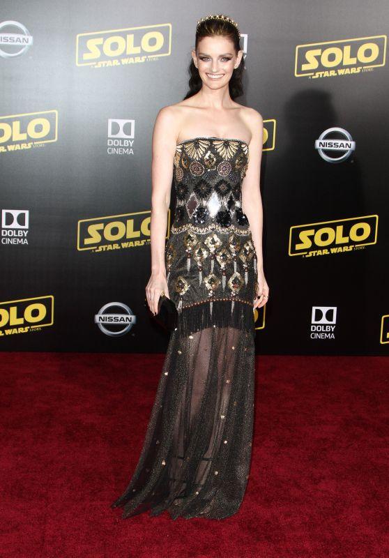 """Lydia Hearst – """"Solo: A Star Wars Story"""" Premiere in LA"""