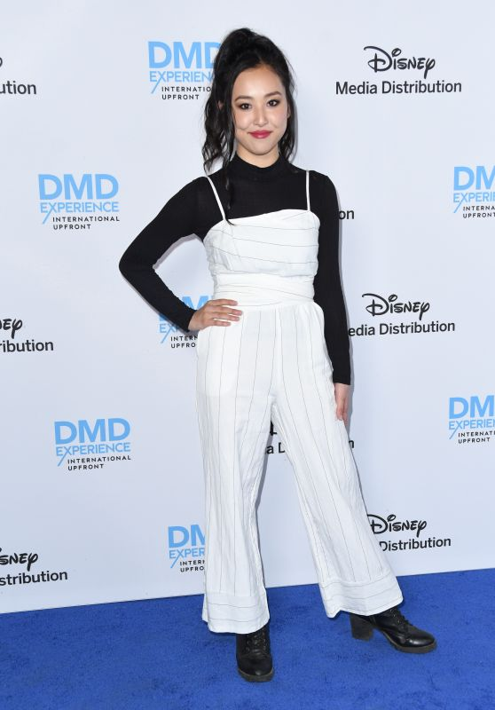 Lyrica Okano – 2018 Disney ABC International Upfronts in LA