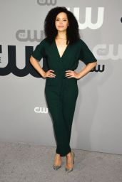 Madeleine Mantock – CW Network Upfront Presentation in NYC 05/17/2018