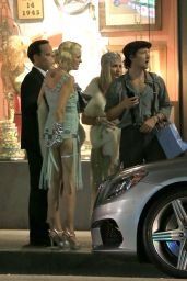 Malin Akerman and Her Beau Jack Donnelly - Leaving her 1920