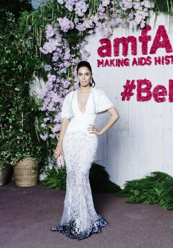 Mallika Sherawat – AmfAR's 25th Cinema Against AIDS Gala in Cannes