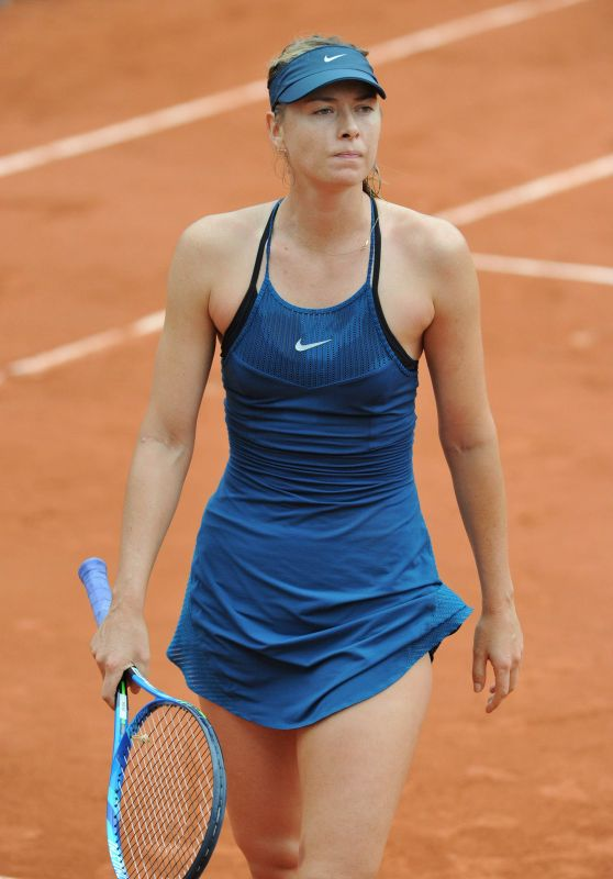 Maria Sharapova – French Open Tennis Tournament in Paris 05/28/2018