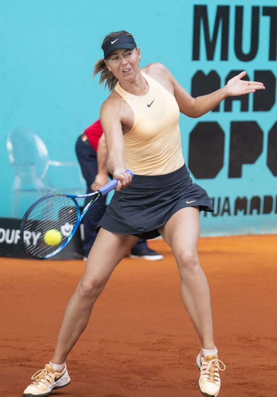 Maria Sharapova – Mutua Madrid Open 05/10/2018