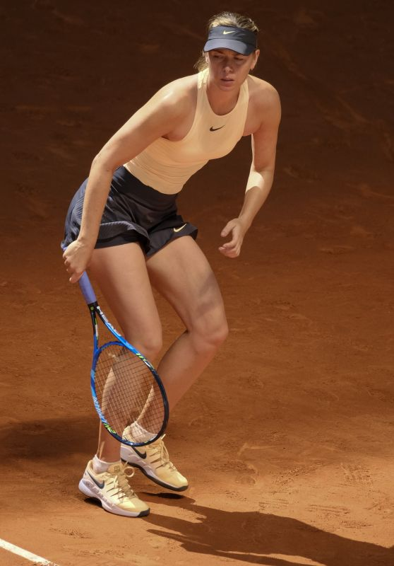 Maria Sharapova – Mutua Madrid Open in Madrid 05/06/2018