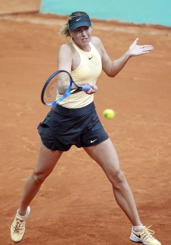 Maria Sharapova – Mutua Madrid Open in Madrid 05/09/2018
