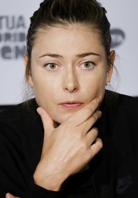 Maria Sharapova -  Mutua Madrid Open Press Conference05/06/2018