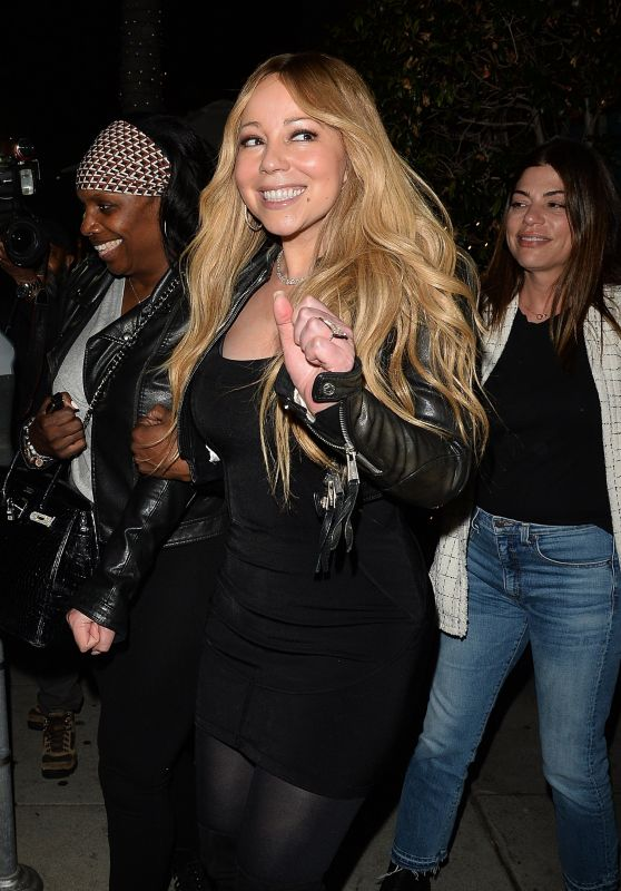 Mariah Carey at Mr. Chow Restaurant in Beverly Hills 05/29/2018