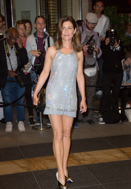 Marina Fois at the Marriott Hotel for the Dior Dinner in Cannes