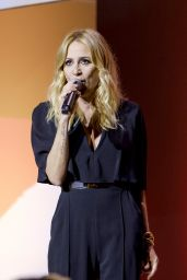 Marta Sanchez - Performing the Spanish National Anthem in the Community of Madrid 05/19/2018